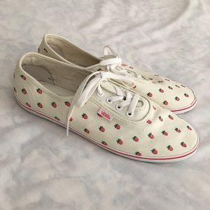 Vintage Vans sneakers strawberry embroidery 10